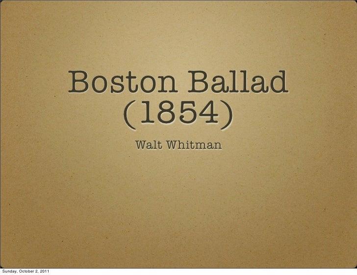 Boston ballad pdf
