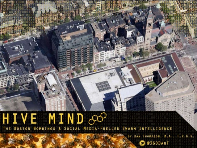 The Boston Bombings and the Hive Mind