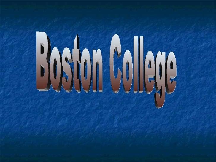 Boston College Sports, Education, History