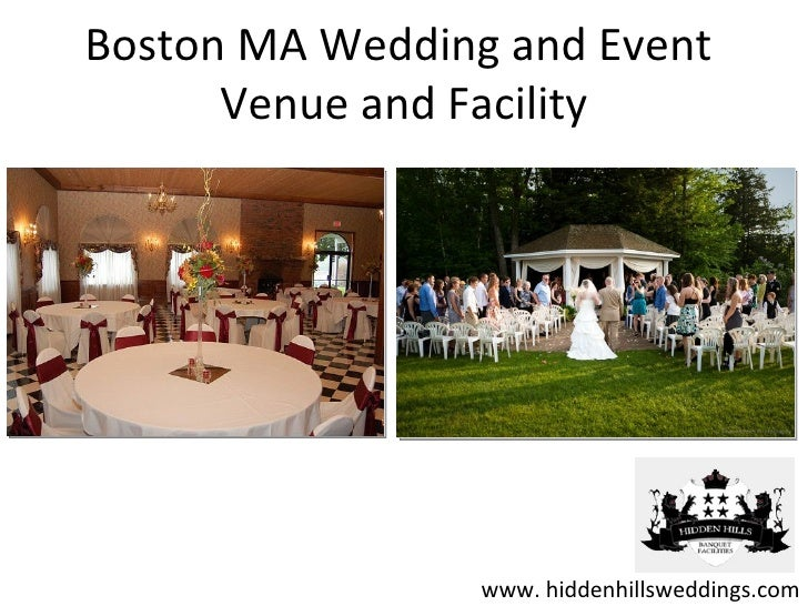 Boston MA Wedding and Event Venue and Facility