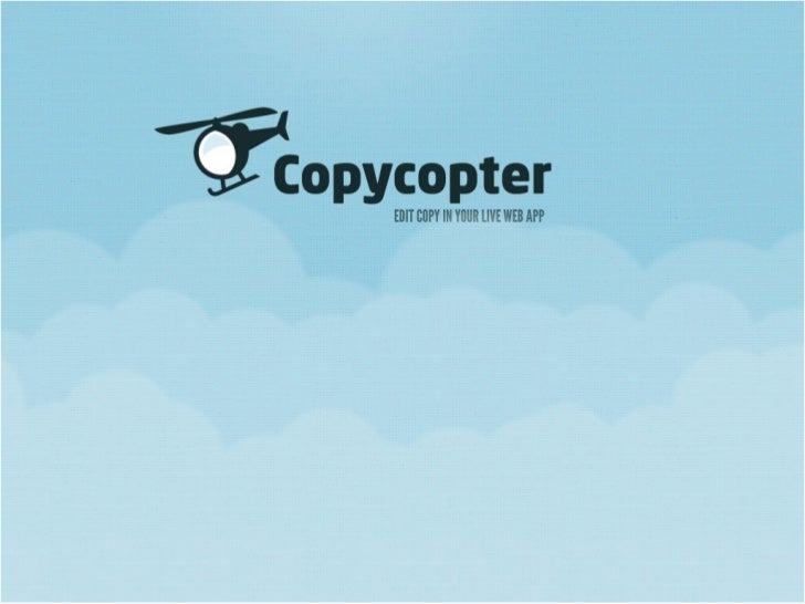 Copycopter Presentation by Joe Ferris at BostonRB