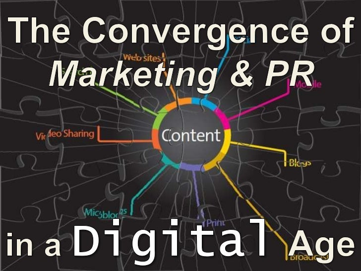 The Convergence of Marketing & PR in a Digital Age – PR Newswire Boston December 9, 2010