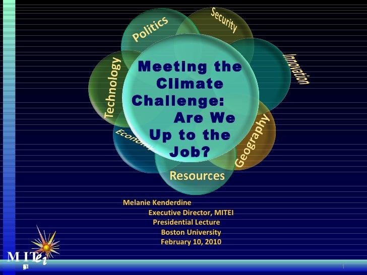 Boston University Talk 021110