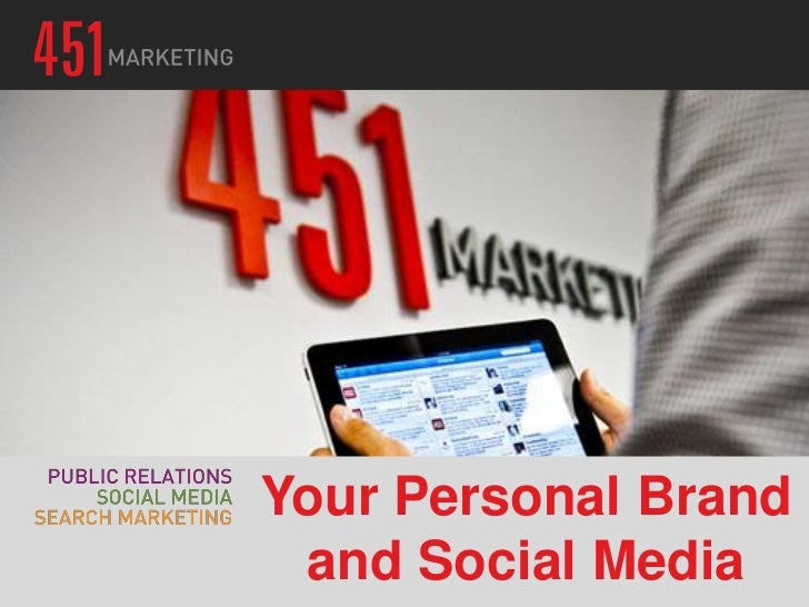 Your Personal Brand and Social Media
