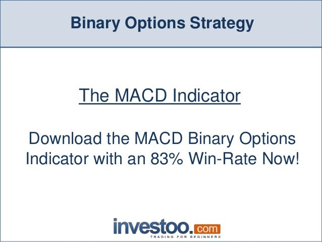 Macd binary options strategy