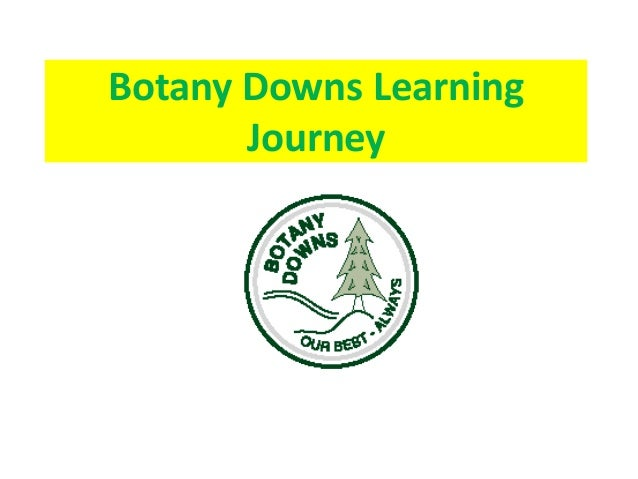 Botany Downs Learning Journey
