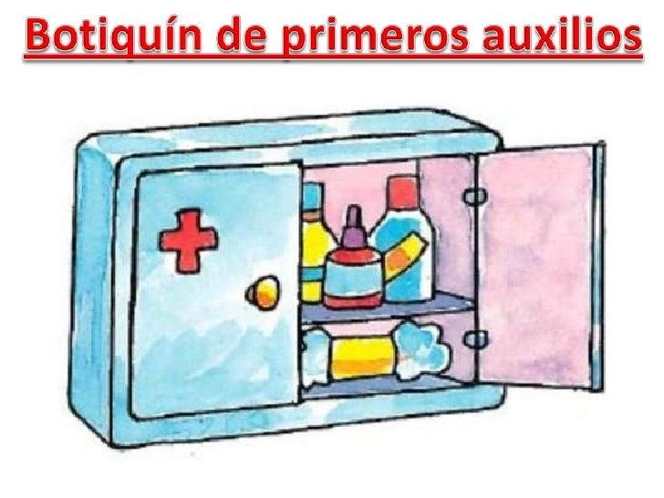 Botiquín de primeros auxilios<br />