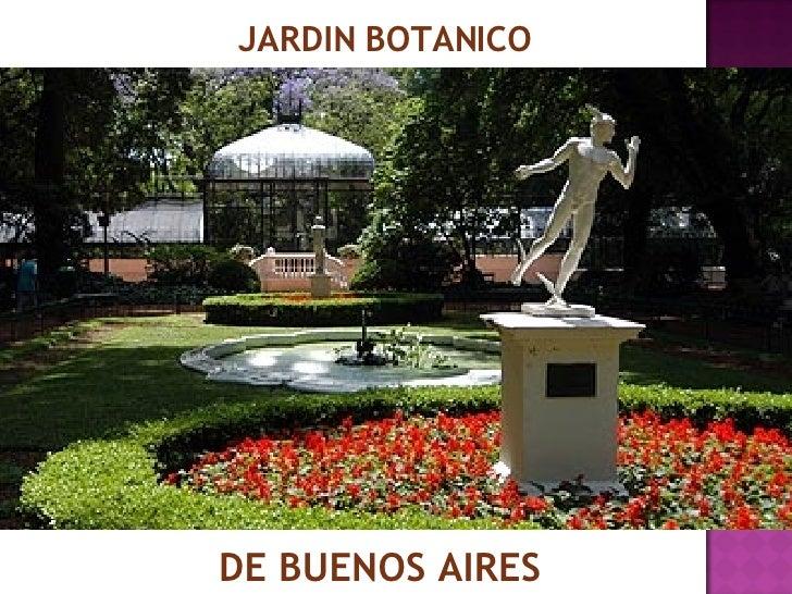 Jard n bot nico de buenos aires for Jardines verticales buenos aires