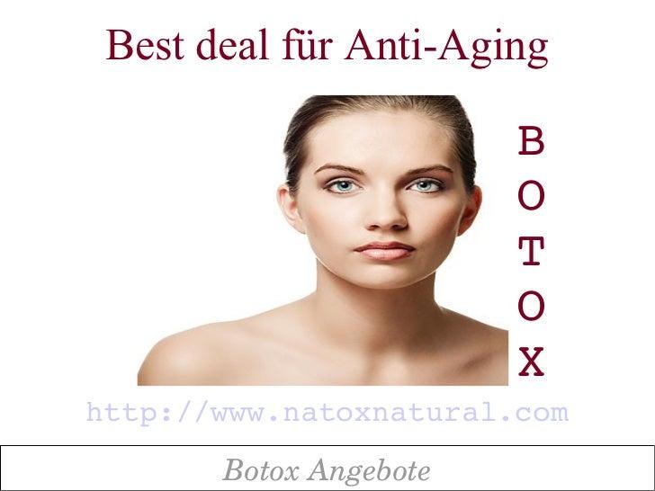 Best deal für Anti-Aging                        B                        O                        T                       ...