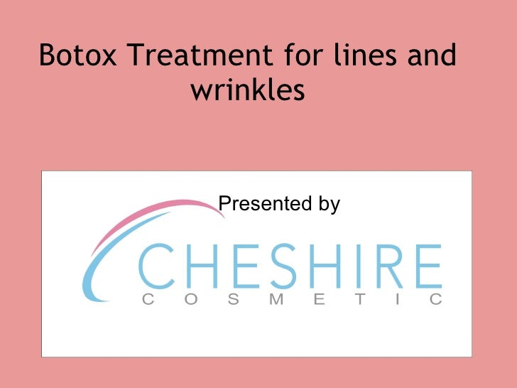 Botox treatment for lines and wrinkles