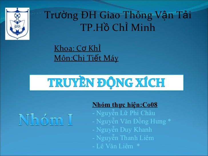 Bo Truyen Xich