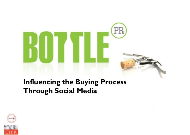Influencing the Buying Process Through Social Media