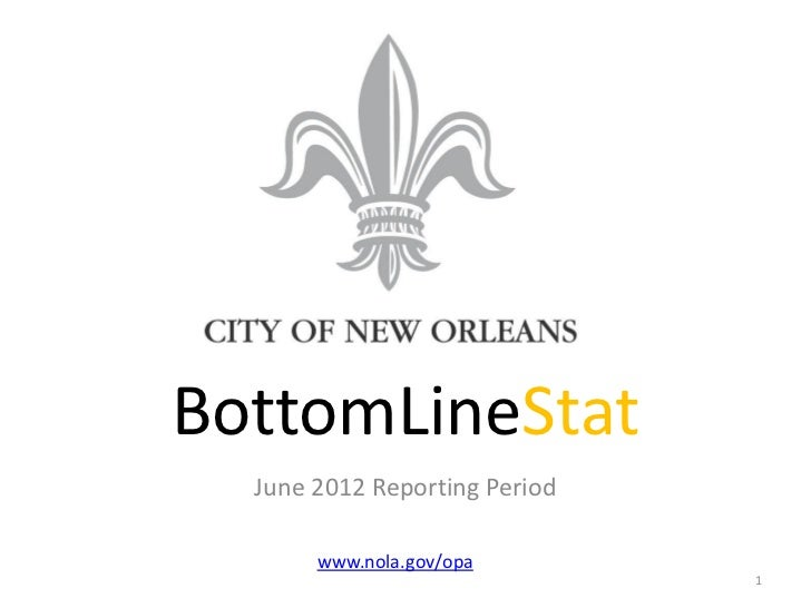 BottomLineStat June 2012