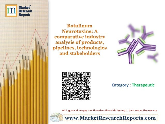 Botulinum Neurotoxins: A comparative industry analysis of products, pipelines, technologies and stakeholders