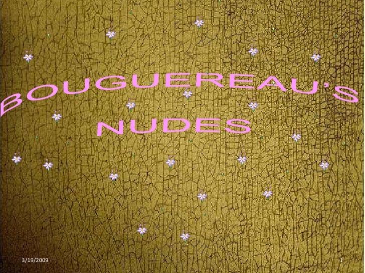 Bouguereaus Nudes