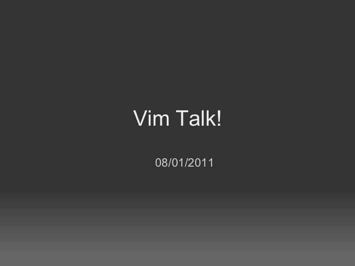 Useful Vim Plugins