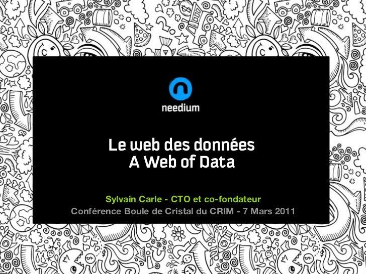 Le web des données