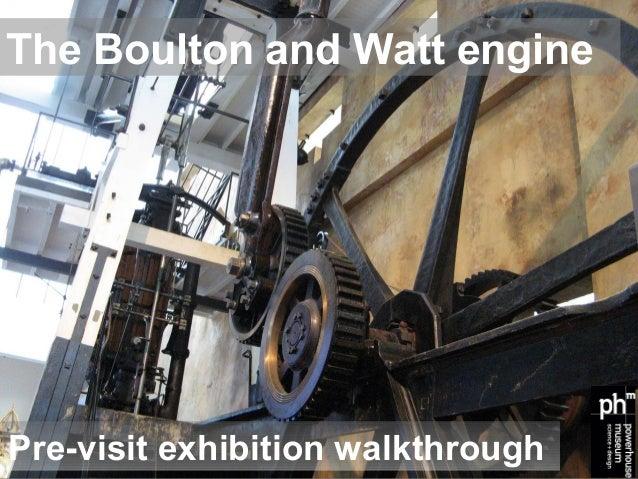 Boulton & Watt engine: pre-visit exhibition slideshow