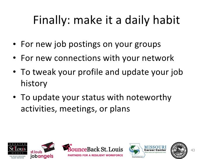 Social Network Advertising Find Your Job History Social Media