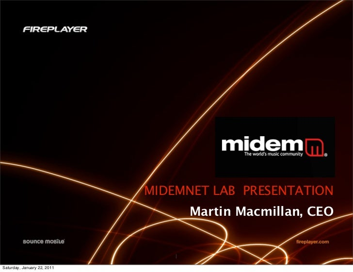 Bounce Mobile   MidemNet Lab 2011