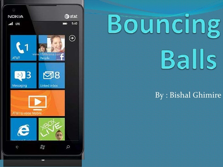 Bouncing balls talk about your apps vol. 2
