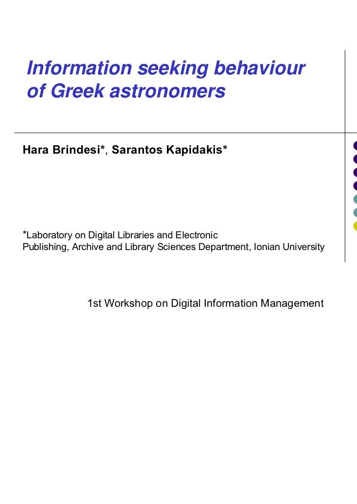Mapping Encoded ArchivalDescription to CIDOC CRMLina Bountouri and Manolis GergatsoulisDatabase & Information Systems Grou...