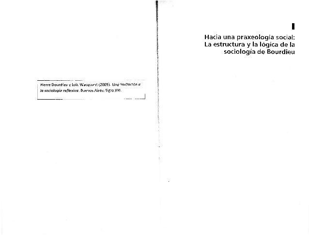 Bourdieu 2005 praxeologia_social
