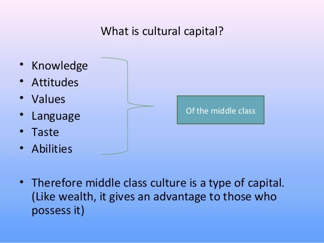 the definition of the educational success and the cultural capital Introduction 11 bourdieu's theory of cultural reproduction seeks to explain the link between social class of origin and social class of destination in terms of the impact of cultural capital on educational attainment.