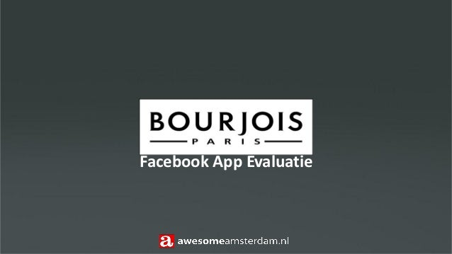 Facebook App Evaluatie