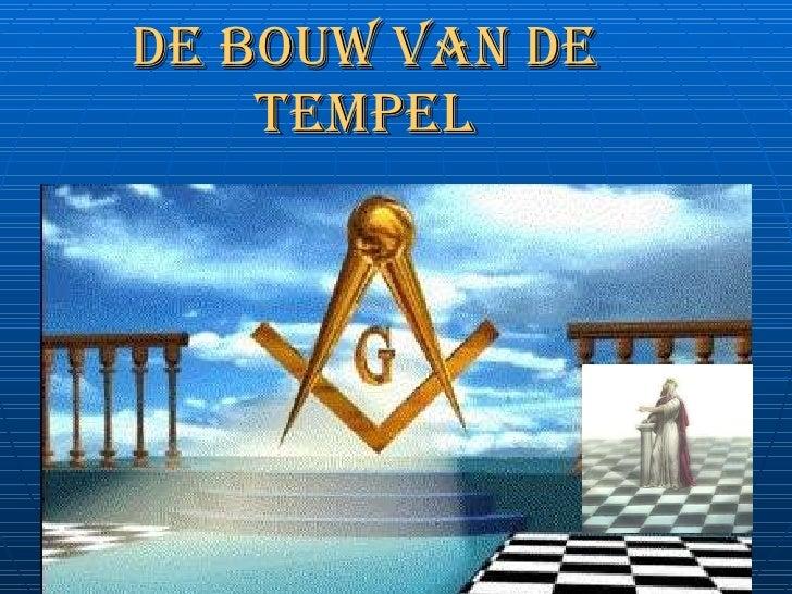 De Bouw van de Tempel