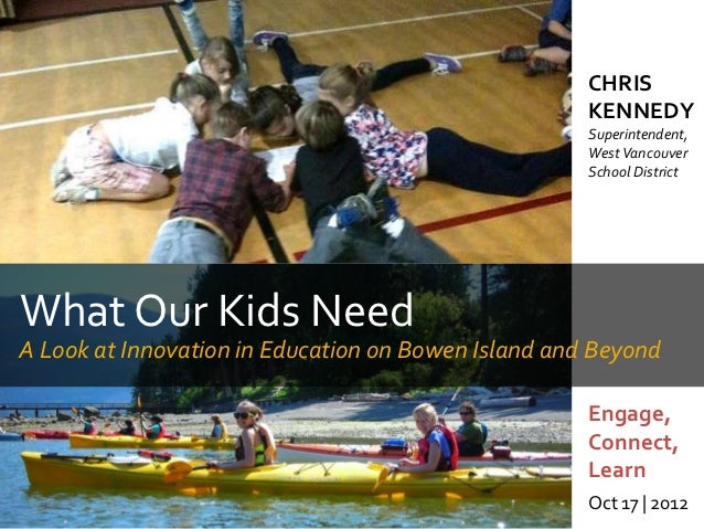 What Our Kids Need – A Look at Innovation in Education on Bowen Island and Beyond