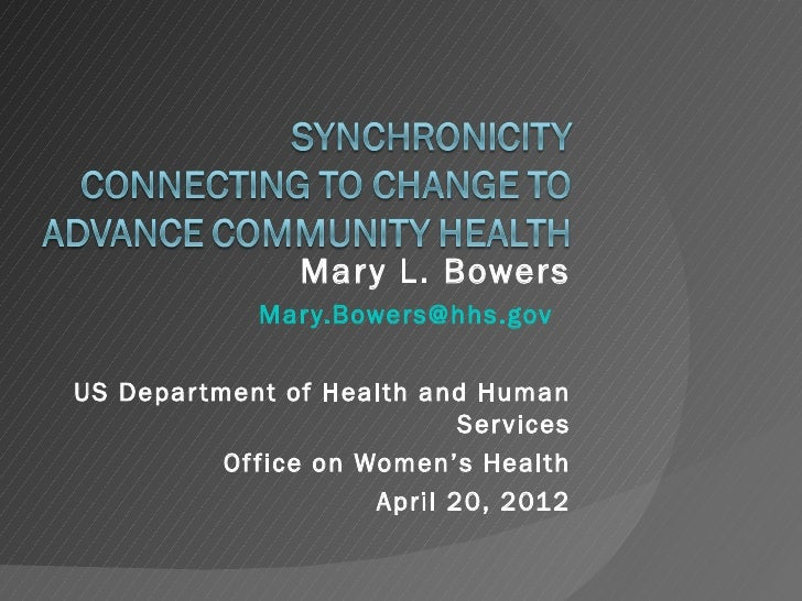Mar y L. Bowers              Mar y.Bowers@hhs.govUS Depar tment of Health and Human                              Ser vices...