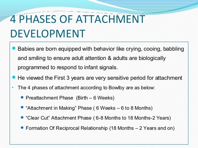 an analysis of the advocates of attachment theory Report of the apsac task force on attachment therapy, reactive attachment disorder, and attachment problems.