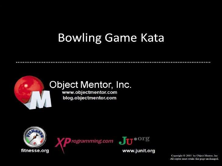 Bowling Game Kata C#