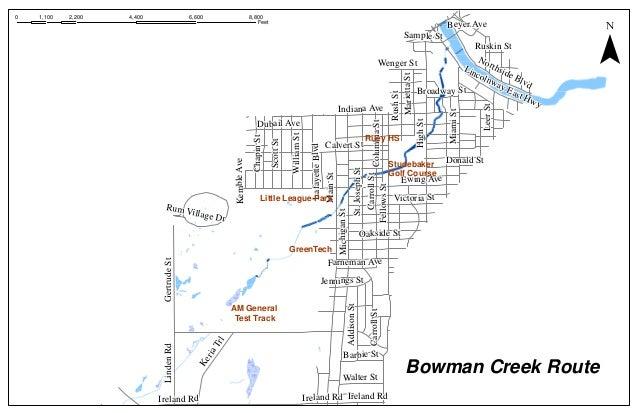 Bowman creekroute
