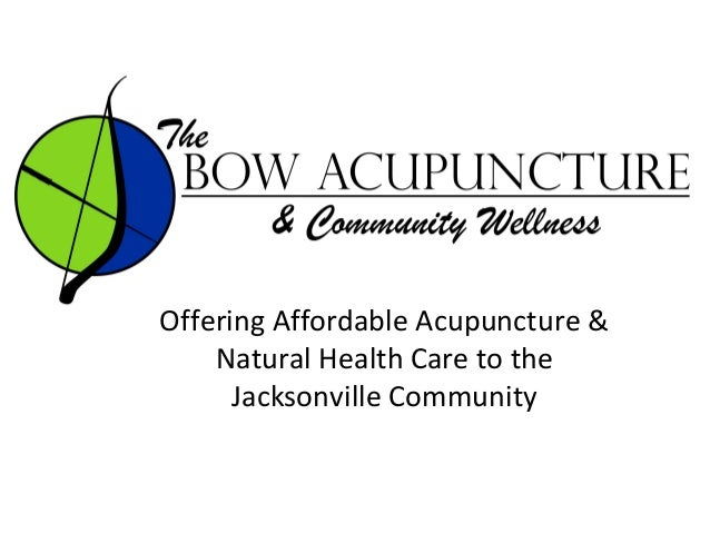 Offering Affordable Acupuncture & Natural Health Care to the Jacksonville Community