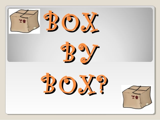 Boxbybox