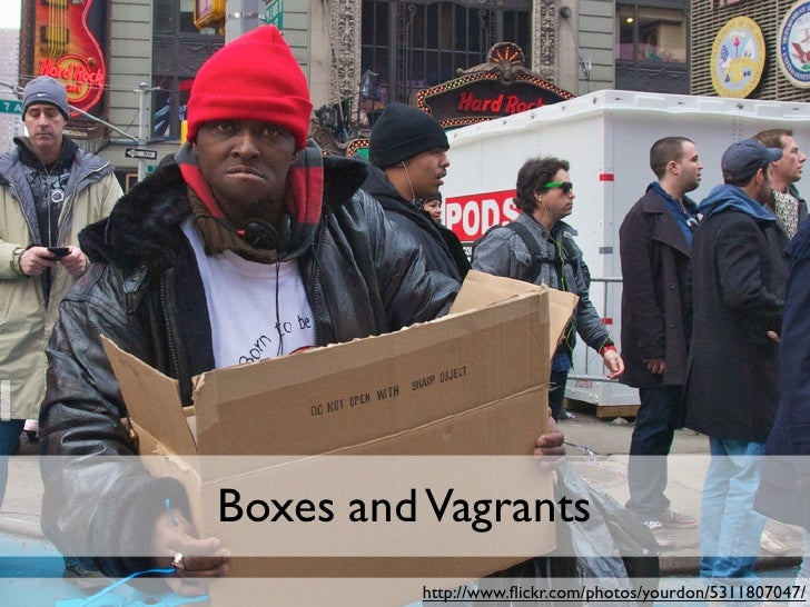Boxes and Vagrants