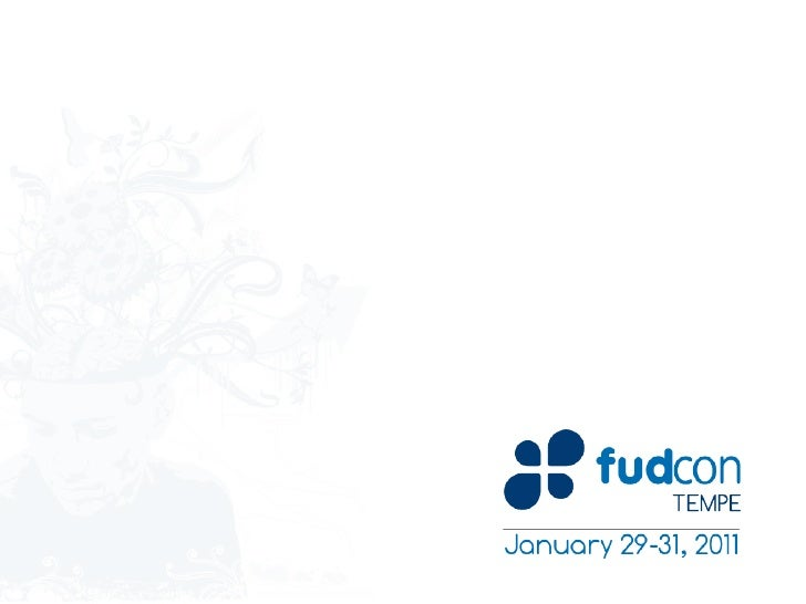 BoxGrinder – FUDCon 2011 Tempe