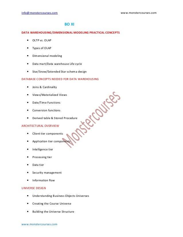 info@monstercourses.com                                    www.monstercourses.com                                BO XIDATA...