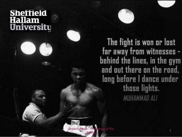 @alanruddock - Physiology of Pro Boxing  1