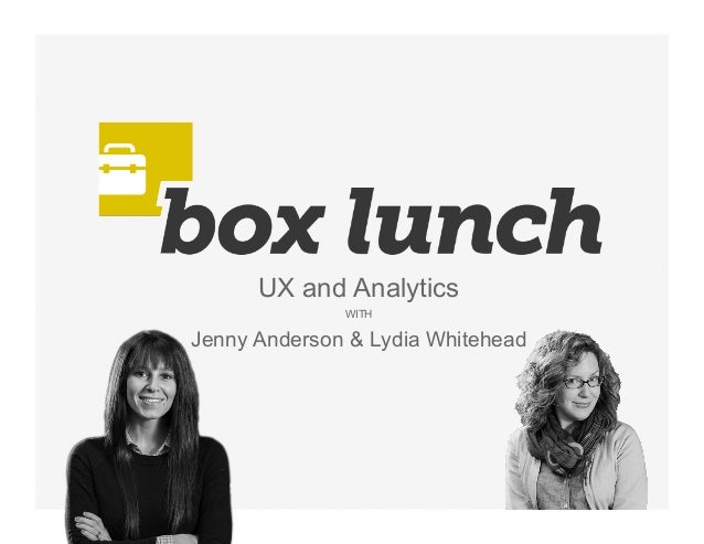 'Box Lunch: UX and Analytics