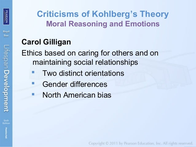 kohlberg and carol gilligans theories So what does this have to do with carol gilligan and women  kohlberg's, gilligan was taken by the stage theory approach to  kohlberg built his theory based on .