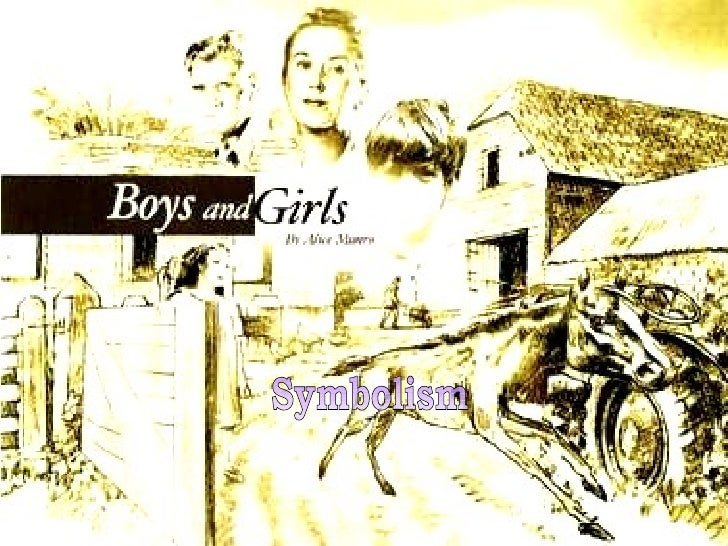 a brief overview of alice munros short story boys and girls