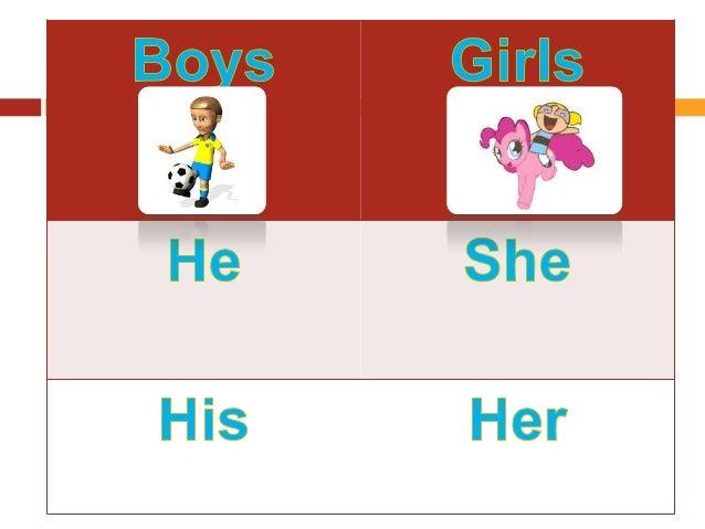 Http Www Slideshare Net Mohado Boys And Girls She He His Her
