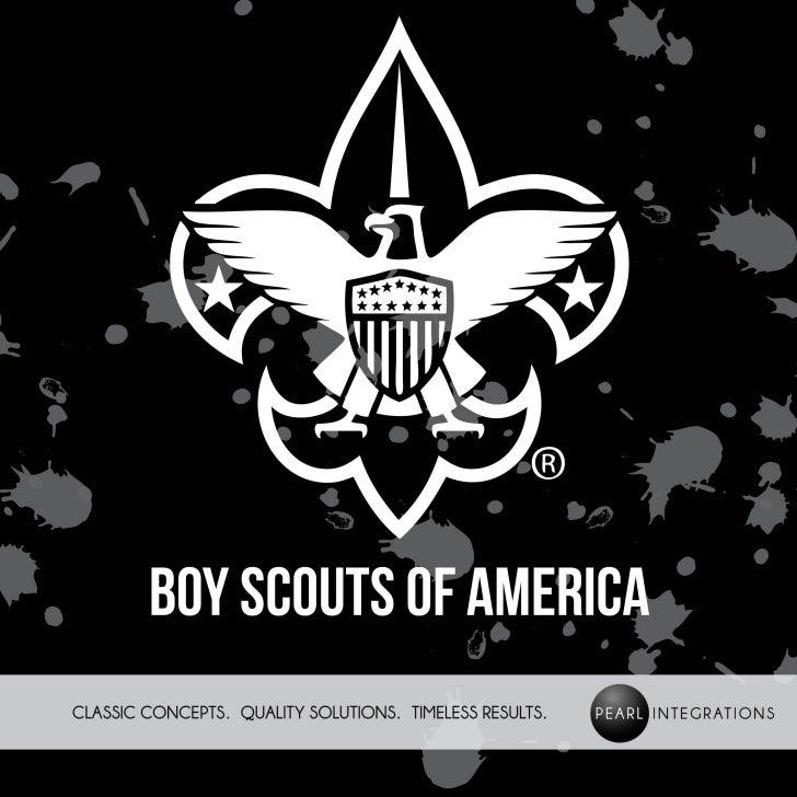 The Boyscouts of America Campaign