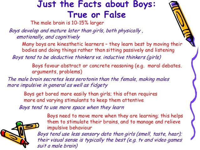 boys in education essay