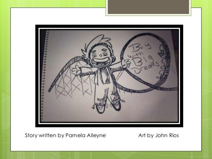 Story written by Pamela Alleyne   Art by John Rios