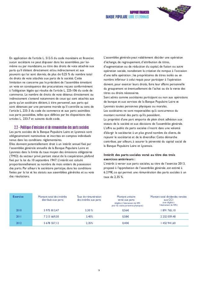 Jean Pierre Levayer bpl rapportannuel