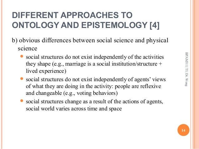 Epistemological and Ontological views in action reasearch?
